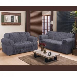 Capa de sofá América 2 e 3 Lugares Elasticada
