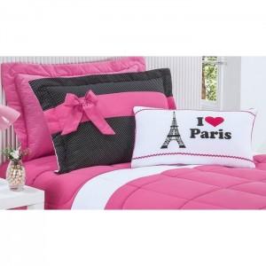 Kit Cherry I LOVE PARIS 3 Peças